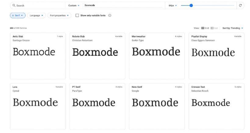 Serif Fonts For Website