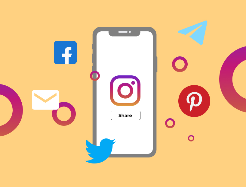 Use other platforms to promote your Instagram content