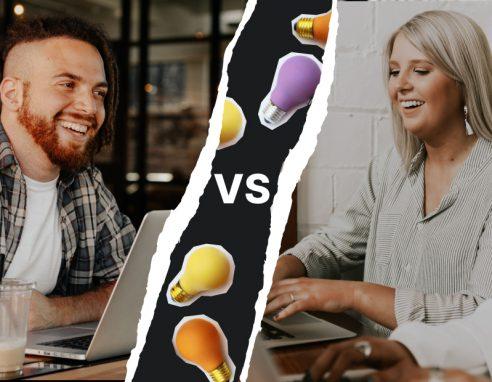 Men vs. Women: Who are more keen website creators?