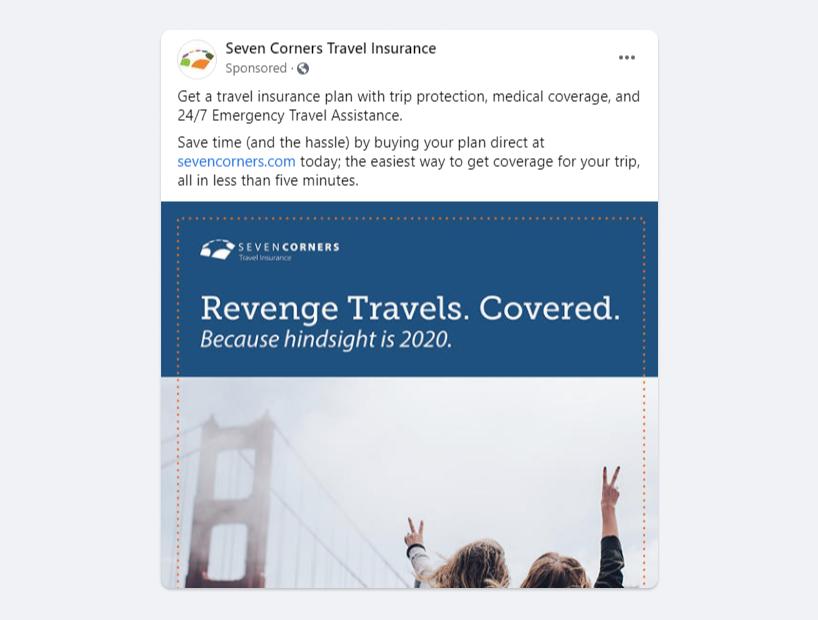 Seven Corners Travel Insurance website