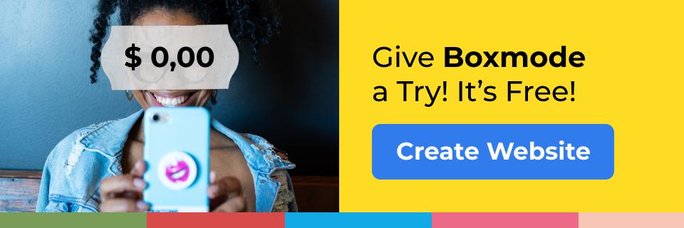 Create Website CTA