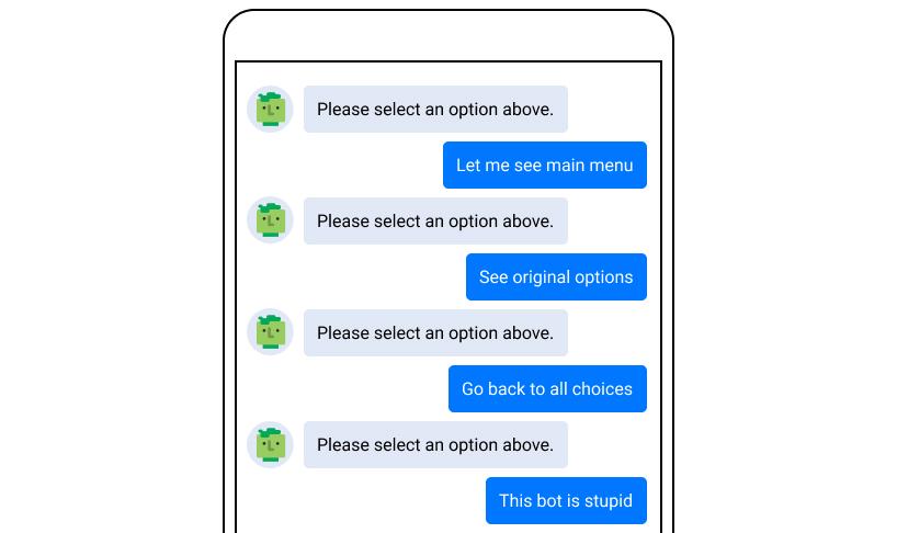 Chatbot Fail Examples: Broken Script