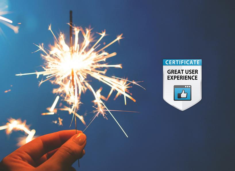 Great User Experience Award