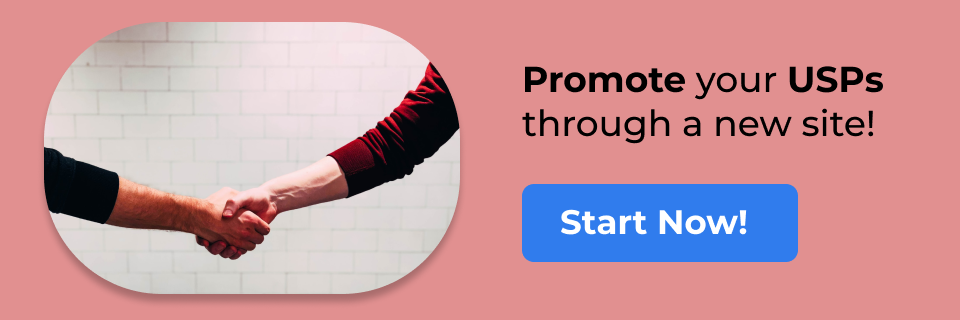 Promote your brand with a new site Get started