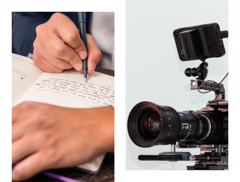 Write a script and prepare multimedia