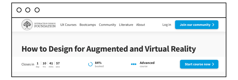 How to Design for Augmented and Virtual Reality