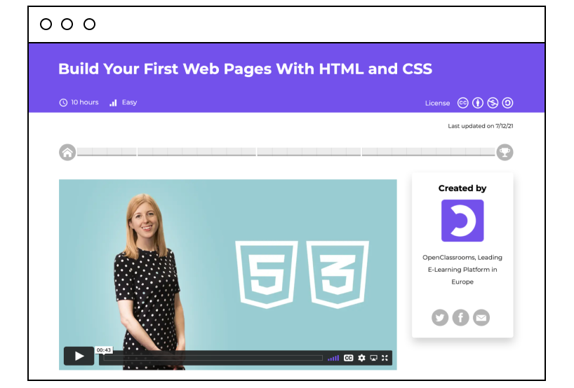 Build Your First Web Pages With HTML and CSS