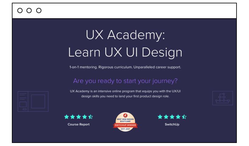 UX Academy: Learn UX UI Design