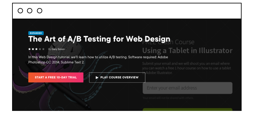 The Art of A/B Testing for Web Design