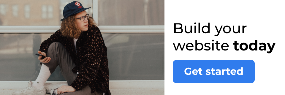 Build your website today! [Get started]